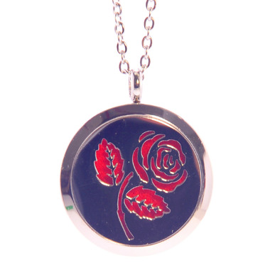 Finesse Home Rose Pendant Necklace