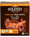 Solenzi Organic Red Lentil Fusilli