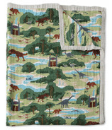 Little Unicorn Cotton Muslin Quilt Big Kid Jurassic World