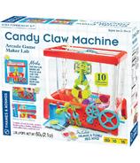 Thames & Kosmos Machine à griffe à bonbons style arcade du Labo Game Maker