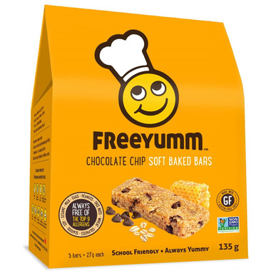FreeYumm Chocolate Chip Oat Bars