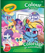 Crayola My Little Pony Colour and Sticker Book