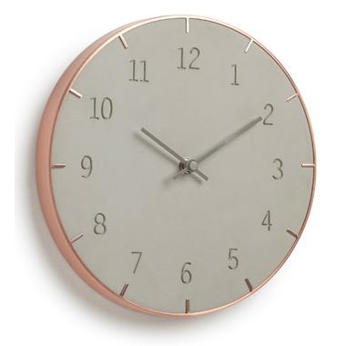 Umbra Piatto Wall Clock Concrete