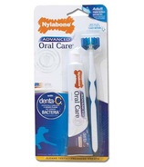 Nylabone Advanced Oral Care Triple Action Dog Dental Kit