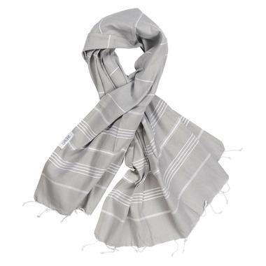 Lualoha Turkish Towel Classic Light Grey