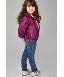 O8 Lifestyle Kid's Full Zip Packable Jacket Grape