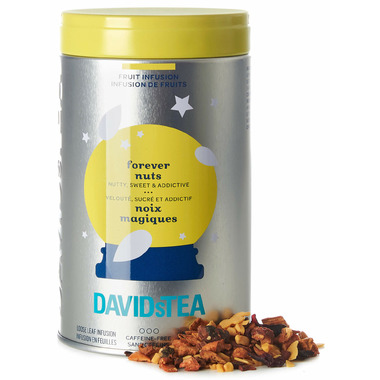 DAVIDsTEA Iconic Tin Forever Nuts