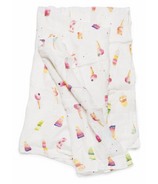 Loulou Lollipop Luxe Muslin Swaddle Blanket Ice Cream