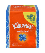 Kleenex Facial Tissue Anti-Viral Upright
