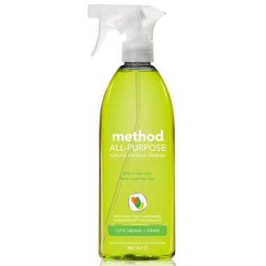 Method All-Purpose Natural Surface Cleaner Lime + Sea Salt
