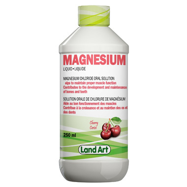 Land Art Magnesium Chloride Oral Solution