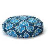 Halfmoon Round Meditation Cushion Heart Centre