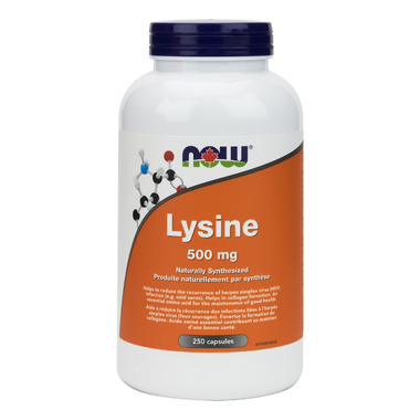 NOW Foods L-Lysine 500 mg