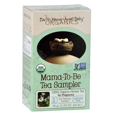 Earth Mama Angel Baby Organic Mama-To-Be-Tea Sampler