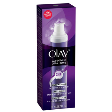 Olay Age Defying Anti-Wrinkle 2-in-1 Day Cream + Serum