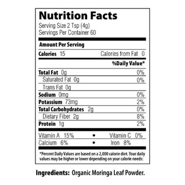 MRM Raw Organic Moringa Powder Bag