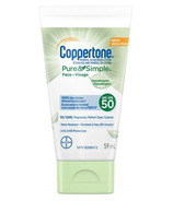 Coppertone Pure & Simple Sunscreen Lotion Hypoallergenic SPF 50