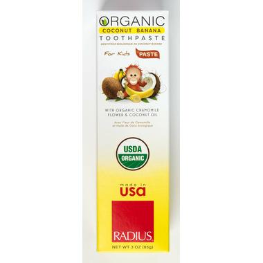 Radius Organic Children\'s Coconut Toothpaste
