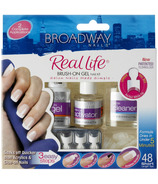 Broadway Nails Real Life Brush-On Gel Nail Kit