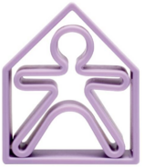 dena Toys 1 Kid and 1 House Soft Violet