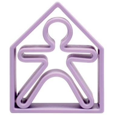 dena Toys 1 Kid and 1 House Soft Violet