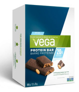 Vega Protein Bar Chocolate Peanut Butter Case