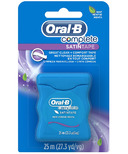 Oral-B Complete SatinTape Dental Floss Mint