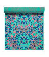 Gaiam Reversible Print Yoga Mat Kaleidoscope
