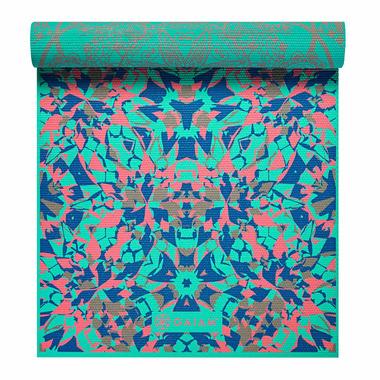 Gaiam Reversible Print Yoga Mat Kaleidoscope