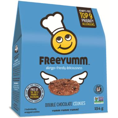 FreeYumm Double Chocolate Cookies