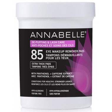 Annabelle De-Puffing & Lash Care Eye Makeup Remover Pads