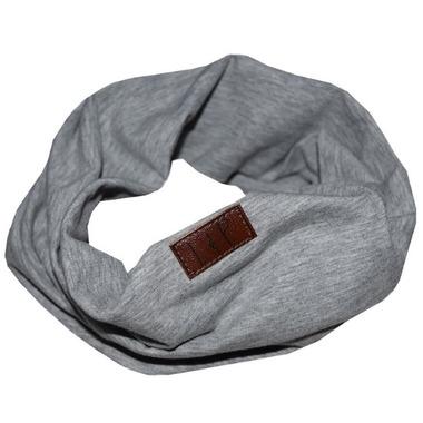 L&P Apparel Infinity Scarf Gray