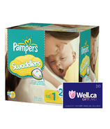 Pampers Swaddlers - Largest Box + Well.ca $10 Gift Card
