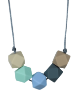 Glitter & Spice Silicone Teething Necklace Charlotte