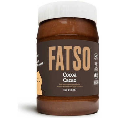 Fatso High Performance Cocoa Peanut Butter
