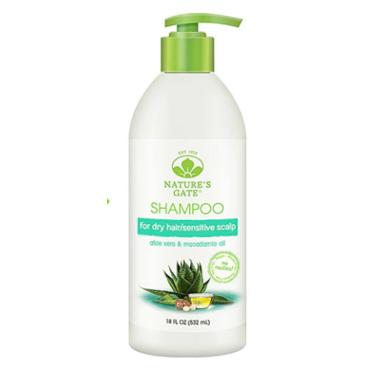 Aloe Vera + Macadamia Oil Moisturizing Shampoo