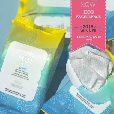 C\'est Moi Gentle Makeup Remover Cleansing Wipes