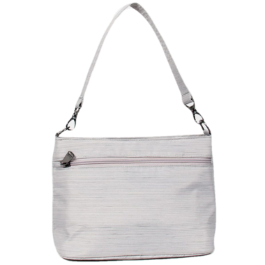 Lug Samba Shoulder Bag Brushed Silver