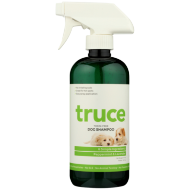 Truce Dog Shampoo Peppermint and Lavender