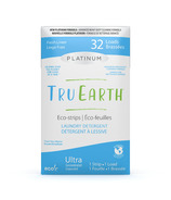 Tru Earth Platinum Eco- Strips Laundry Detergent Fresh Linen