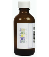 Aura Cacia Amber Glass 2 oz Bottle with Writeable Label