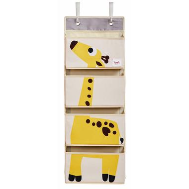 3 Sprouts Hanging Wall Organizer Giraffe