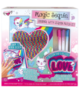 Fashion Angels Magic Sequins Journal & Patch Design Kit