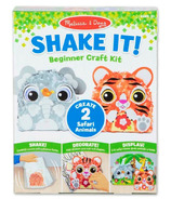 Melissa & Doug Shake It! Farm Animals Beginner Craft Kit