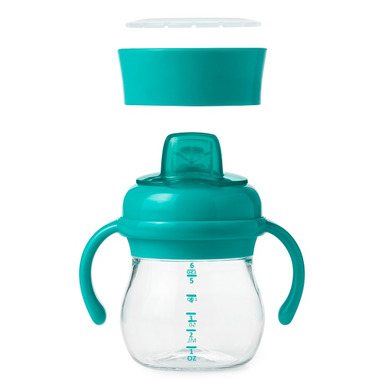 OXO Tot Transitions Soft Spout Sippy Cup Set Teal