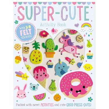 Make Believe Ideas Super Cute Sticker Activity Book