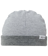 Noppies Organic Cotton Hat Erin Stripe Charcoal