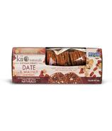 Kii Naturals Artisan Crisps Date and Walnut
