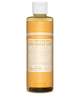 Dr. Bronner's Organic Pure Castile Liquid Soap Citrus Orange 8 Oz