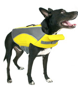 Canada Pooch Wave Rider Life Vest in Yellow Size XL